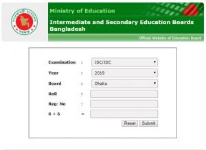 JSC Result 2019 Publish Date educationboardrsult.gov.bd