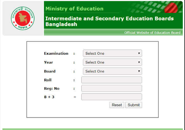SSC Result 2020 check Online