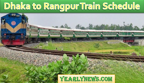 Dhaka to Rangpur Train Schedule