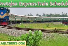 Drutajan Express Schedule