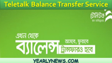 Teletalk Balance Transfer Service