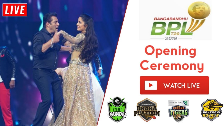 BPL Opening Ceremony 2019-20 Live Stream