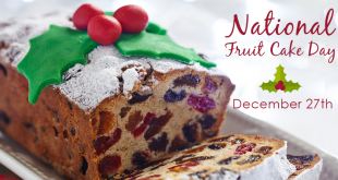 Happy National Fruitcake Day 2019 | Fruitcake Day Celebrate in the United States
