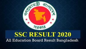 SSC Result 2020 Full Marksheed