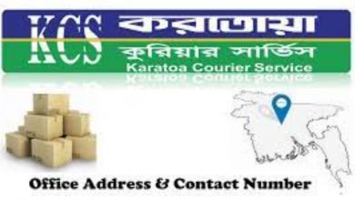 Karatoa Courier Service Office Address