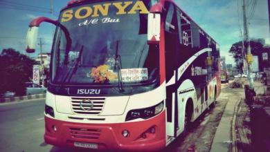 Sonya AC Bus Dhaka